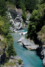 Nový Zéland - Queenstown: Jetboat na Shotover River