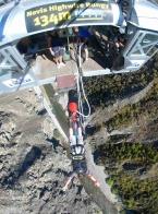 Nový Zéland - Queenstown: Nevis Jump