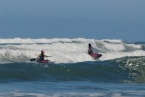 Nový Zéland - Muriwai beach: Surfing