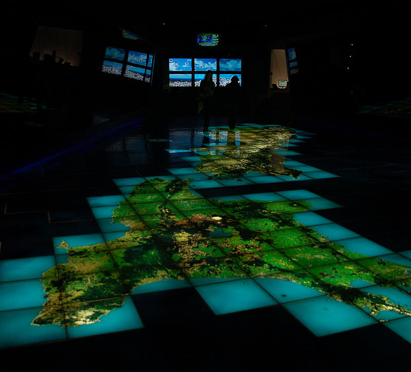 Nový Zéland - Wellington: Museum Te Papa - interaktivní mapa