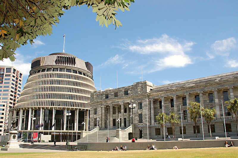 Nový Zéland - Wellington: Vládní budovy